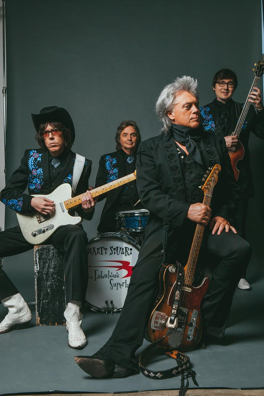 Marty Stuart & his Fabulous Superlatives to Perform at the Lincoln Amphitheatre June 2