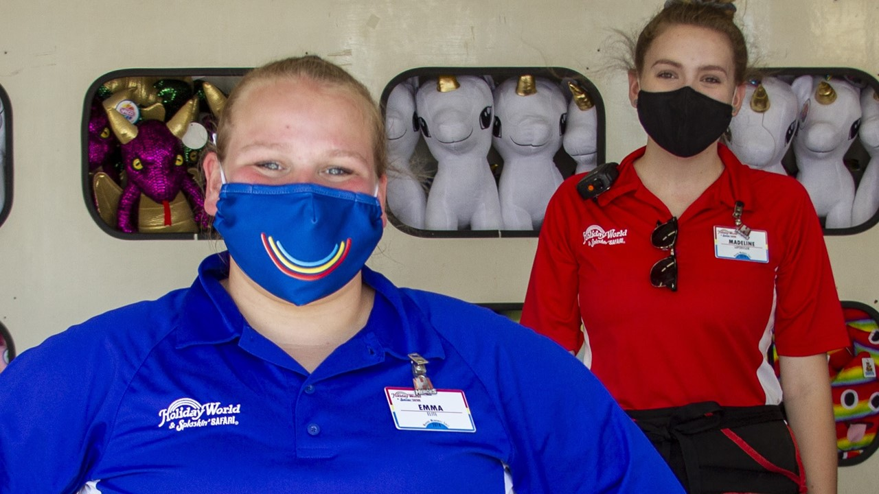 Holiday World Guests Required to Wear Masks Starting Monday