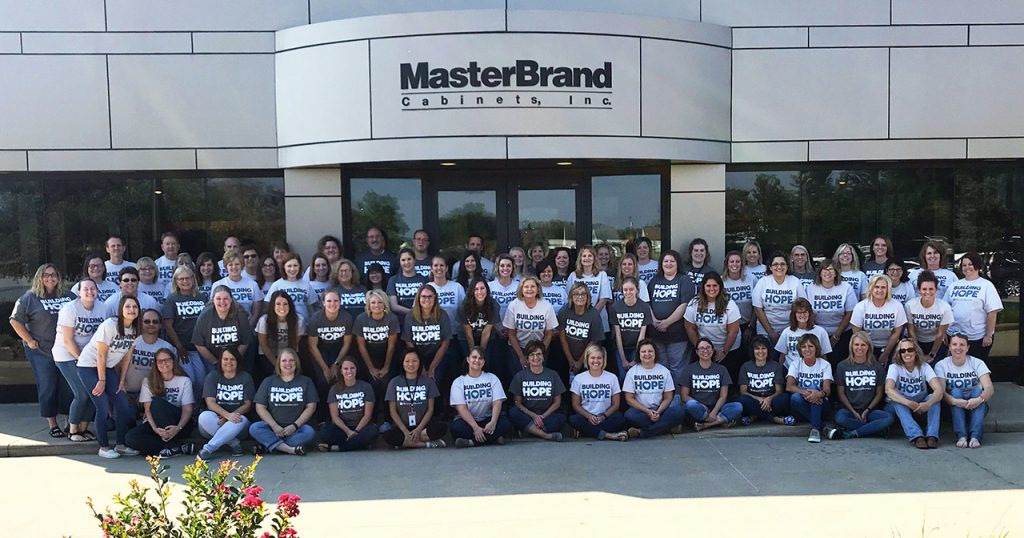 MasterBrand Employees Raise Over $2,000 For American Red Cross