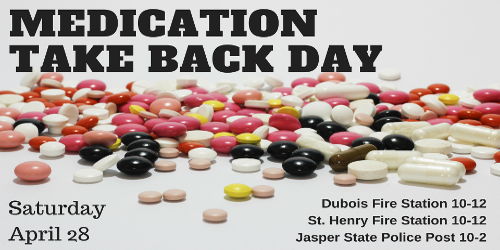 Dubois County Medication Collection Day Tomorrow (Saturday)