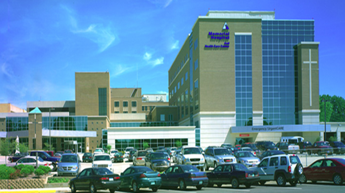 Memorial Hospital to be Awarded For Excellence in Healthcare Friday