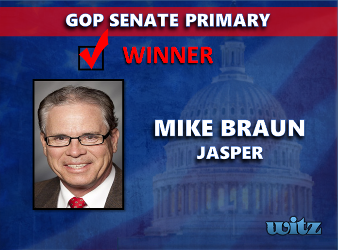 Jasper's Mike Braun Wins GOP Nomination For U.S. Senate