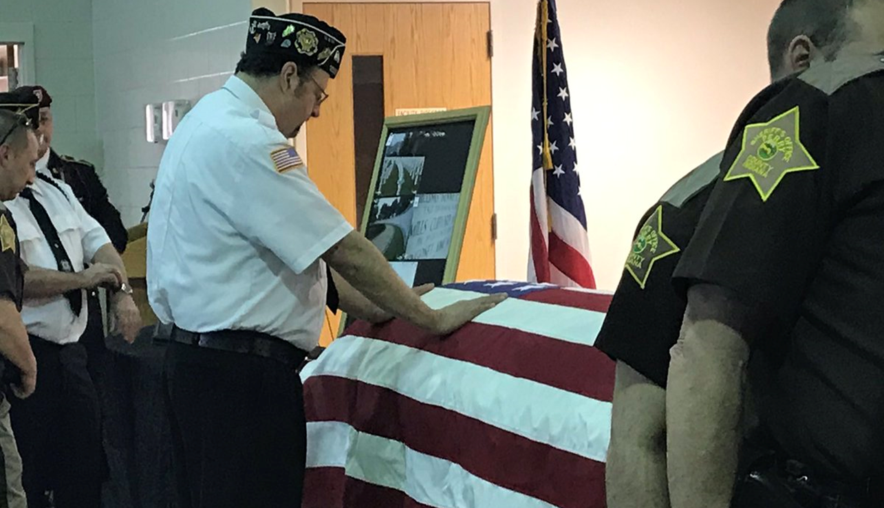 Area Soldier Shot Down During WW II is Back Home in Tell City