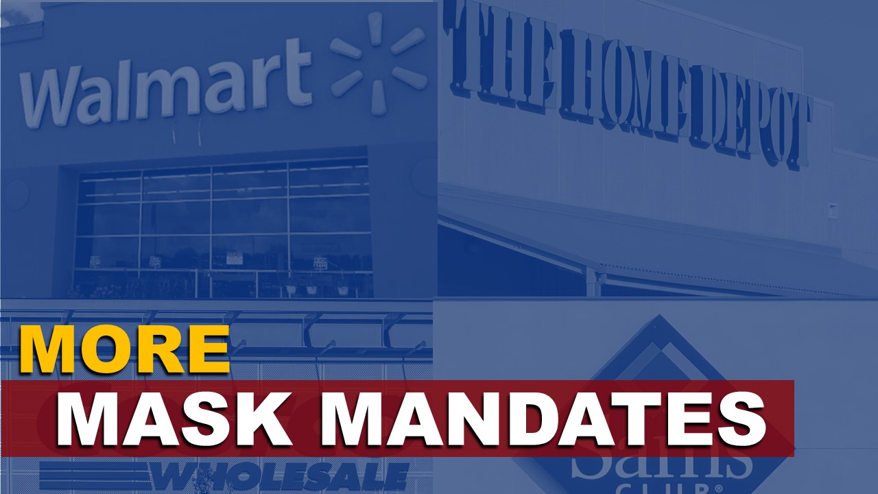 More Big Retailers in Jasper Begin to Implement Mask Mandates For Shoppers
