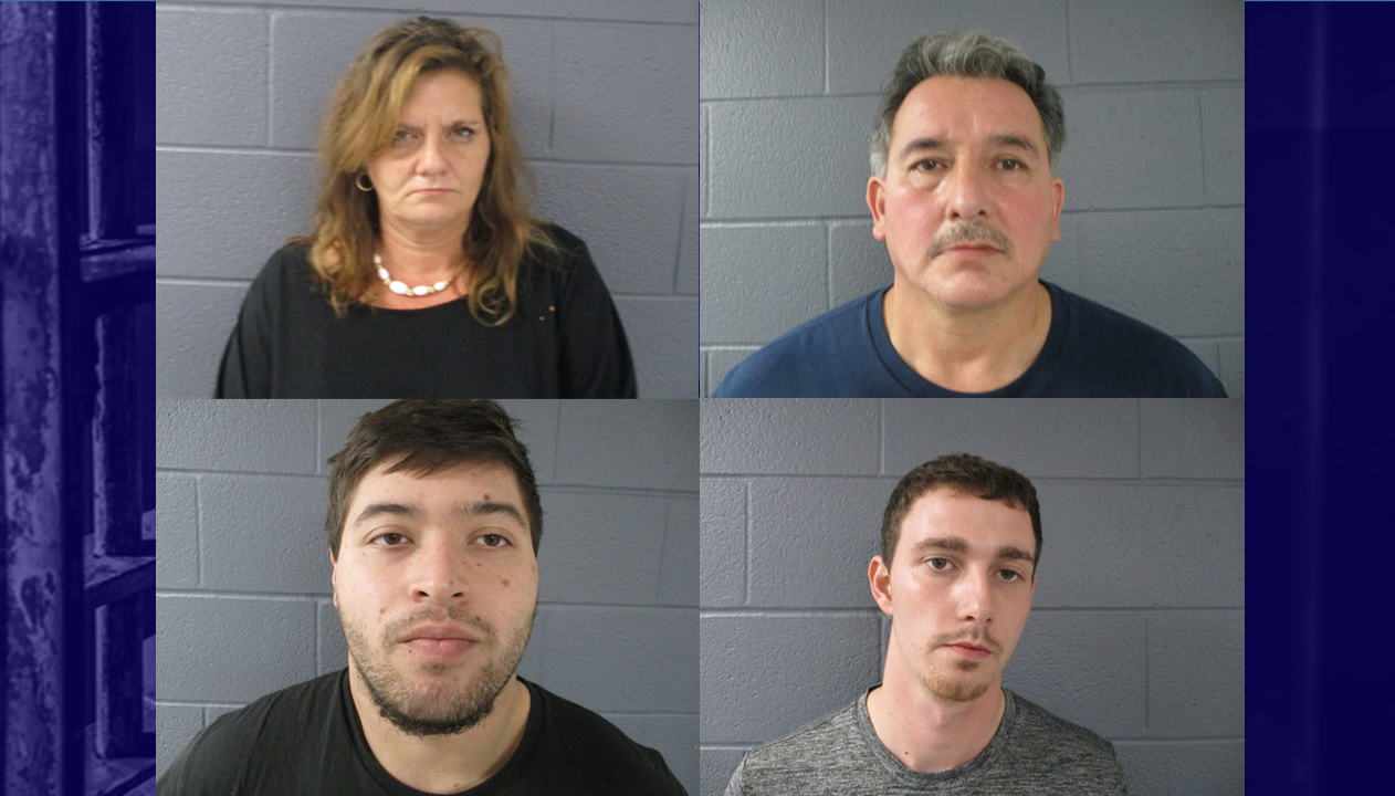 Four Arrested on Drug Charges During