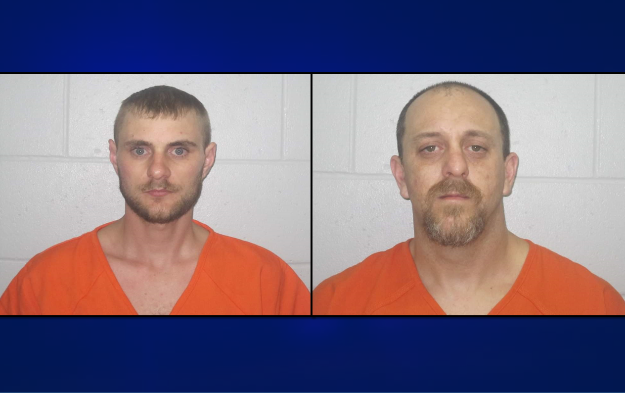 Traffic Stop Lands Two Men in Jail on Meth, Other Charges