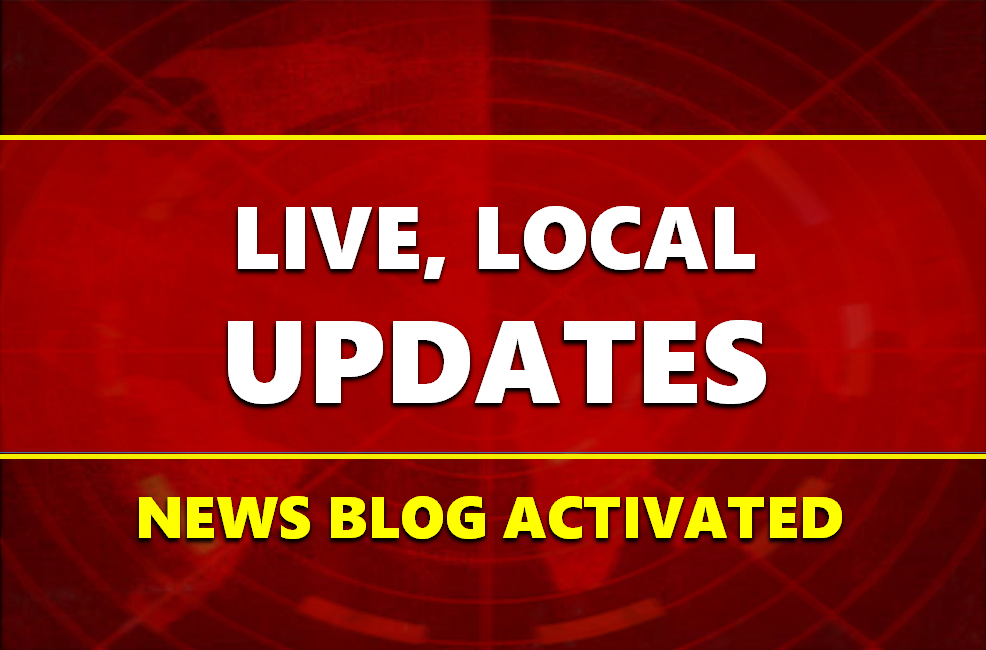 LIVE NEWS BLOG:  Severe Weather Moves Through The Area This Evening