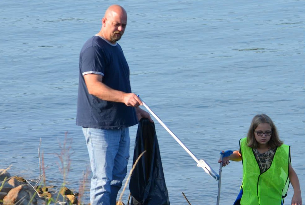 Record-Breaking Turnout for Patoka Lake Clean Up, Around 3,000 Lbs. of Trash Collected