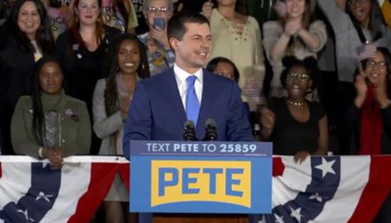 Indiana's Pete Buttigieg Claims Victory in Iowa Caucus Following Unprecedented Delays
