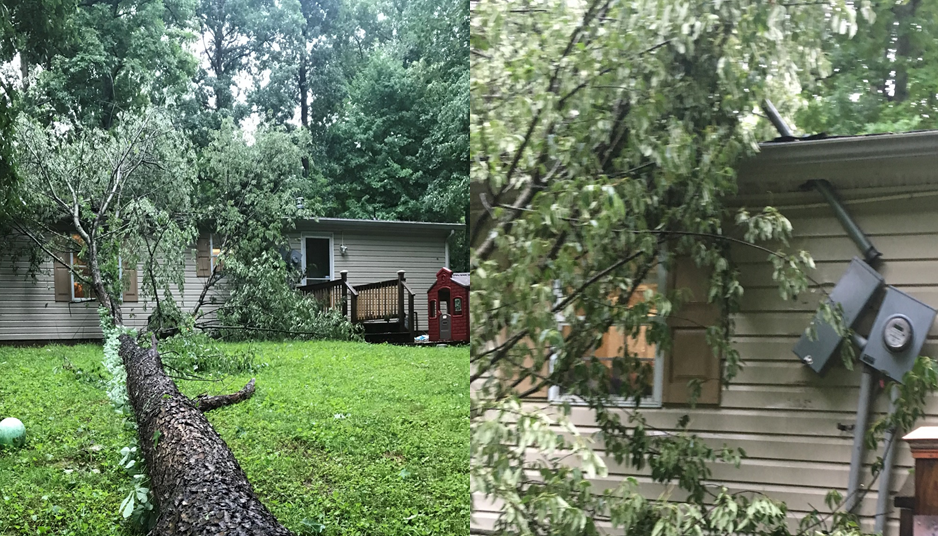 LATEST:  Thursday's Storms Cause Damage in Portions of Dubois County