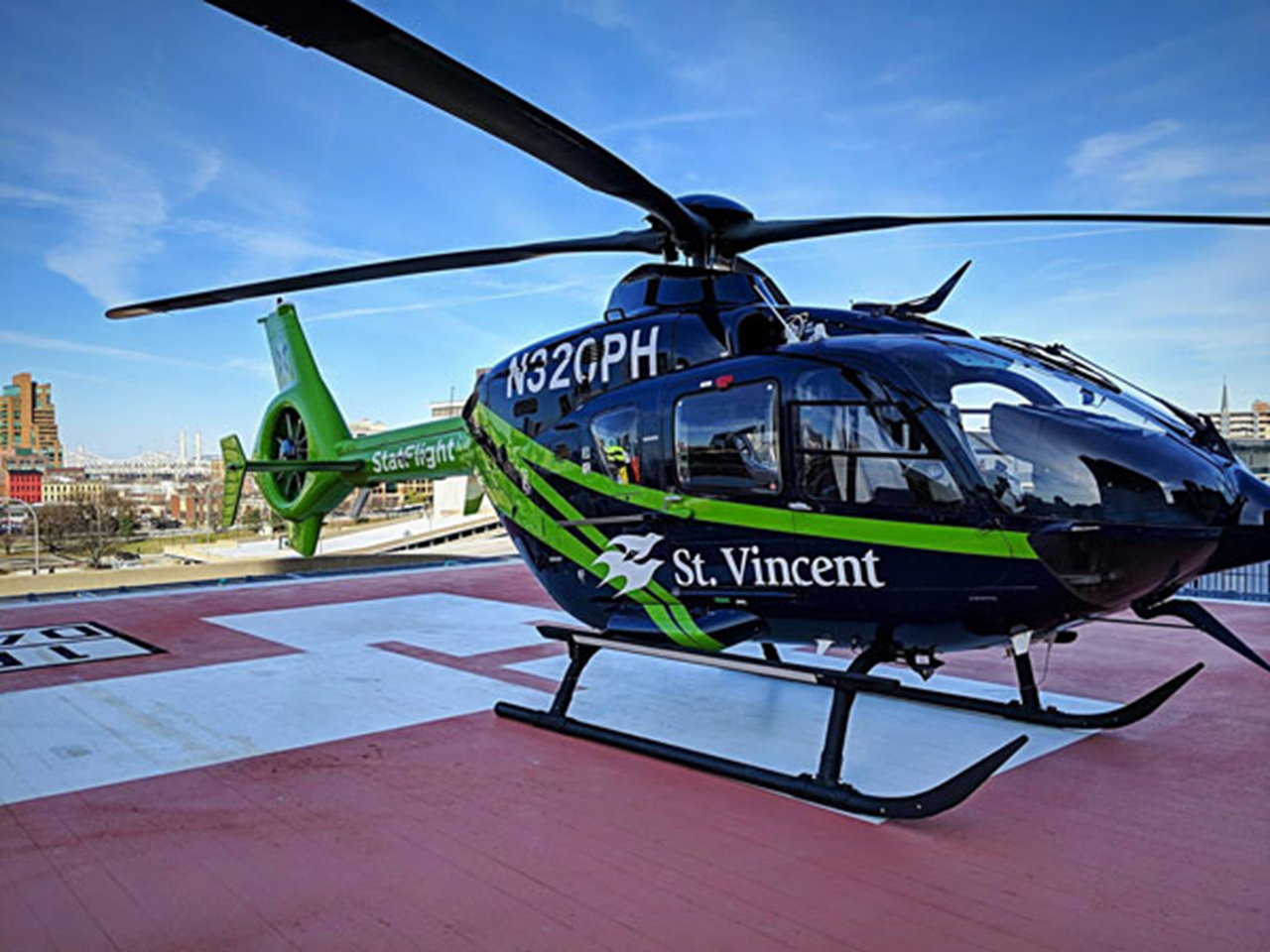 St. Vincent StatFlight Relocating to Huntingburg Airport