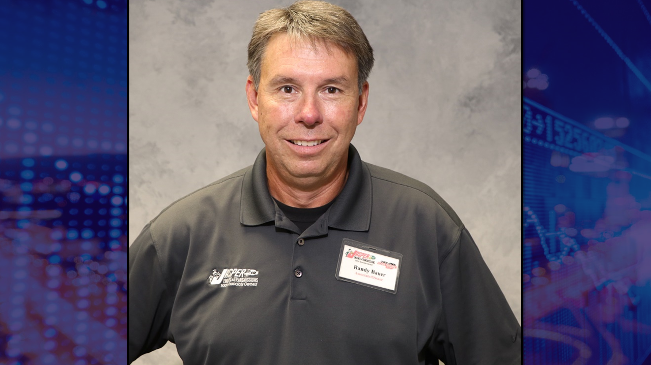 Jasper Engines Names Bauer Vice President of Support Services