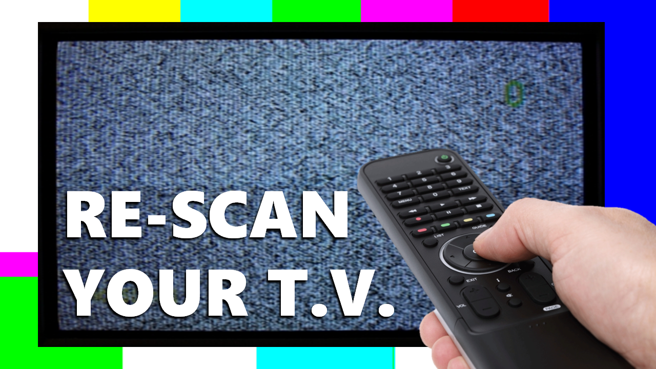 FCC Announces TV Station Frequency Changes, You May Need to Re-Scan