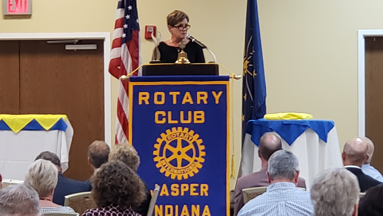 Jasper Interact Club to Meet With Rotary Club to Hear Dr. Lorey Speak About ATHENA Honor
