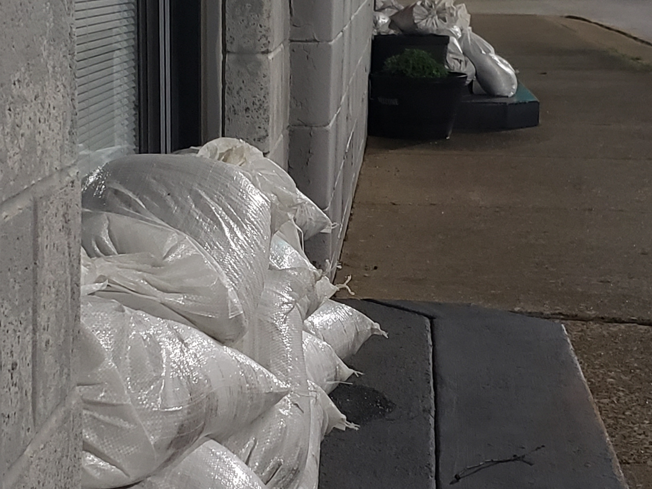 More Storms in the Forecast, Some Jasper Businesses Putting Up Sandbags to Prepare