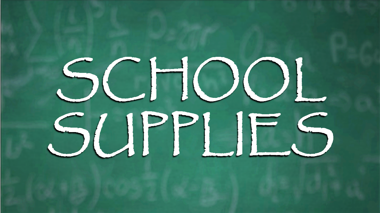 YOU CAN HELP!  School Supply Drive Going on Through Dubois County Until August 10th