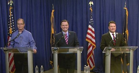 ELECTION 2018:  Braun, Messer, Rokita Face-Off in First Televised Debate Sunday P.M.