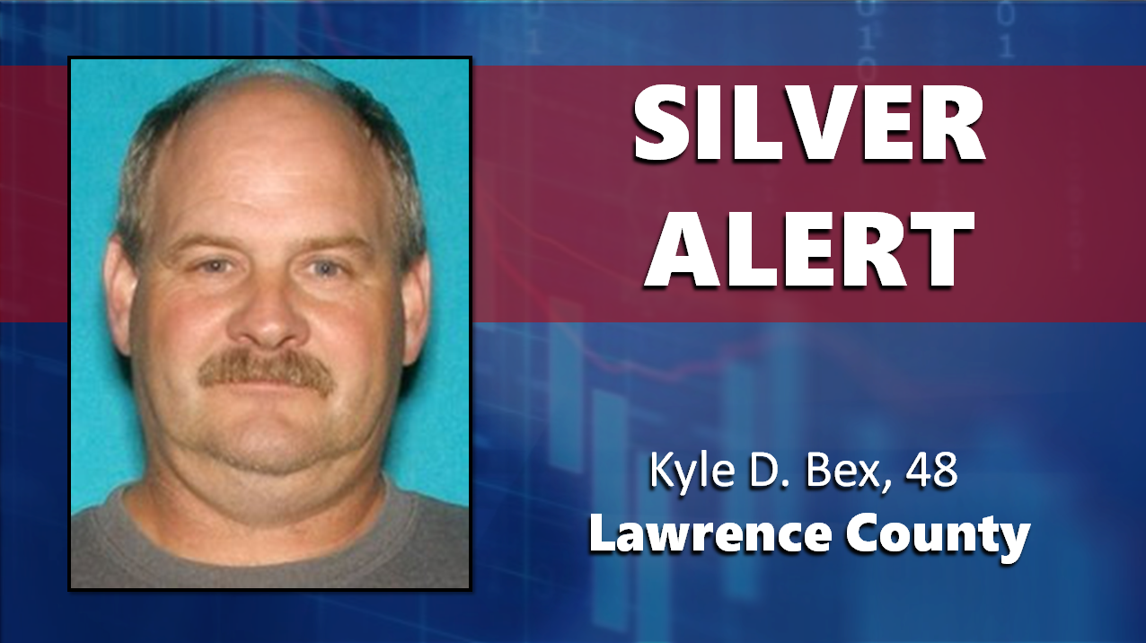 HAVE YOU SEEN HIM?  Silver Alert Declared For Lawrence County Man