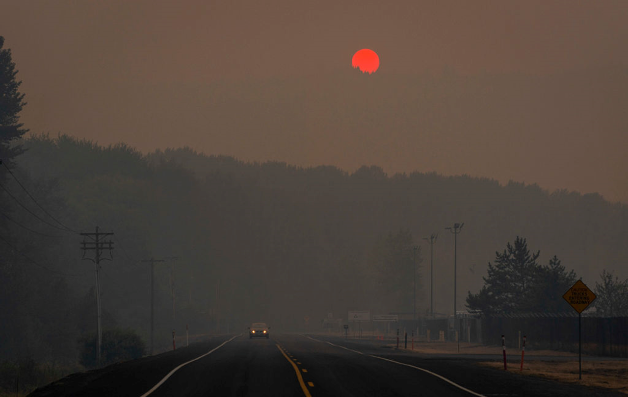 Smoke From West Coast Wildfires Has Reached Our Area, No Major Impacts Expected