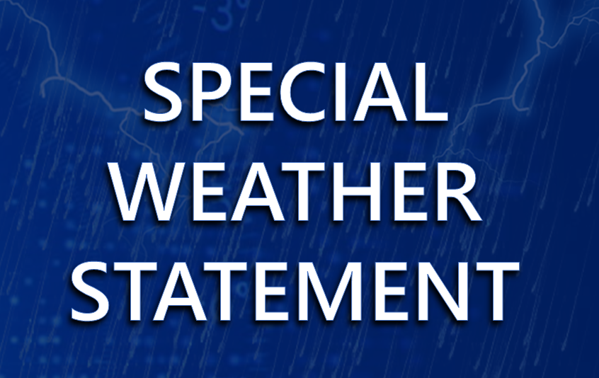Special Weather Statement issued April 11  by NWS Louisville KY