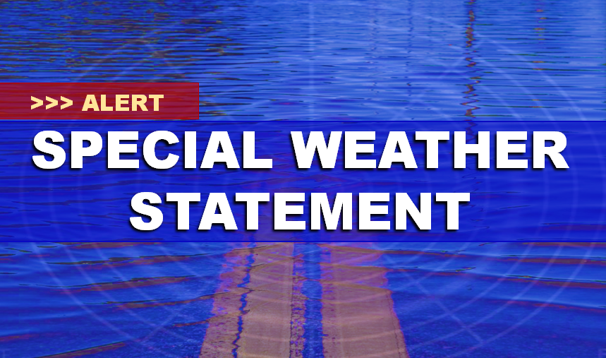 NWS Issues Special Weather Statement on Potential Flooding