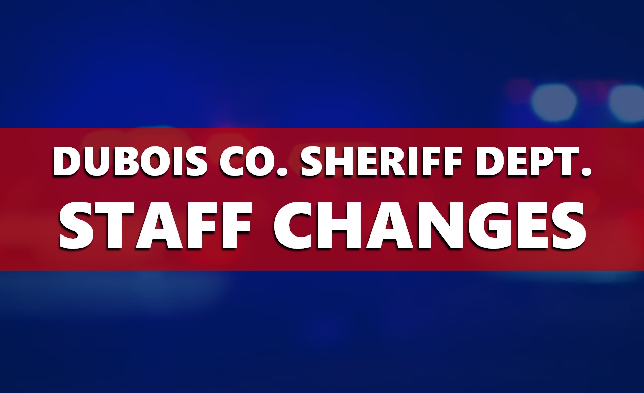 Leadership Changes Announced at the Dubois County Sheriff's Department