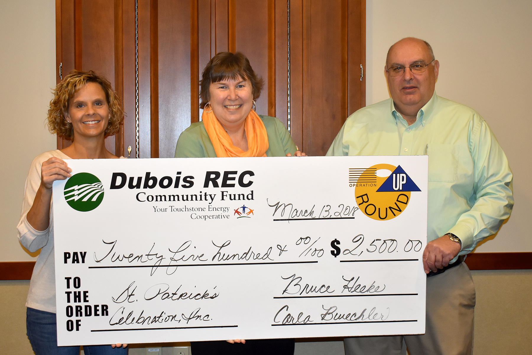 Community Groups and School Programs Receive $12,400 in Operation Round Up Grants