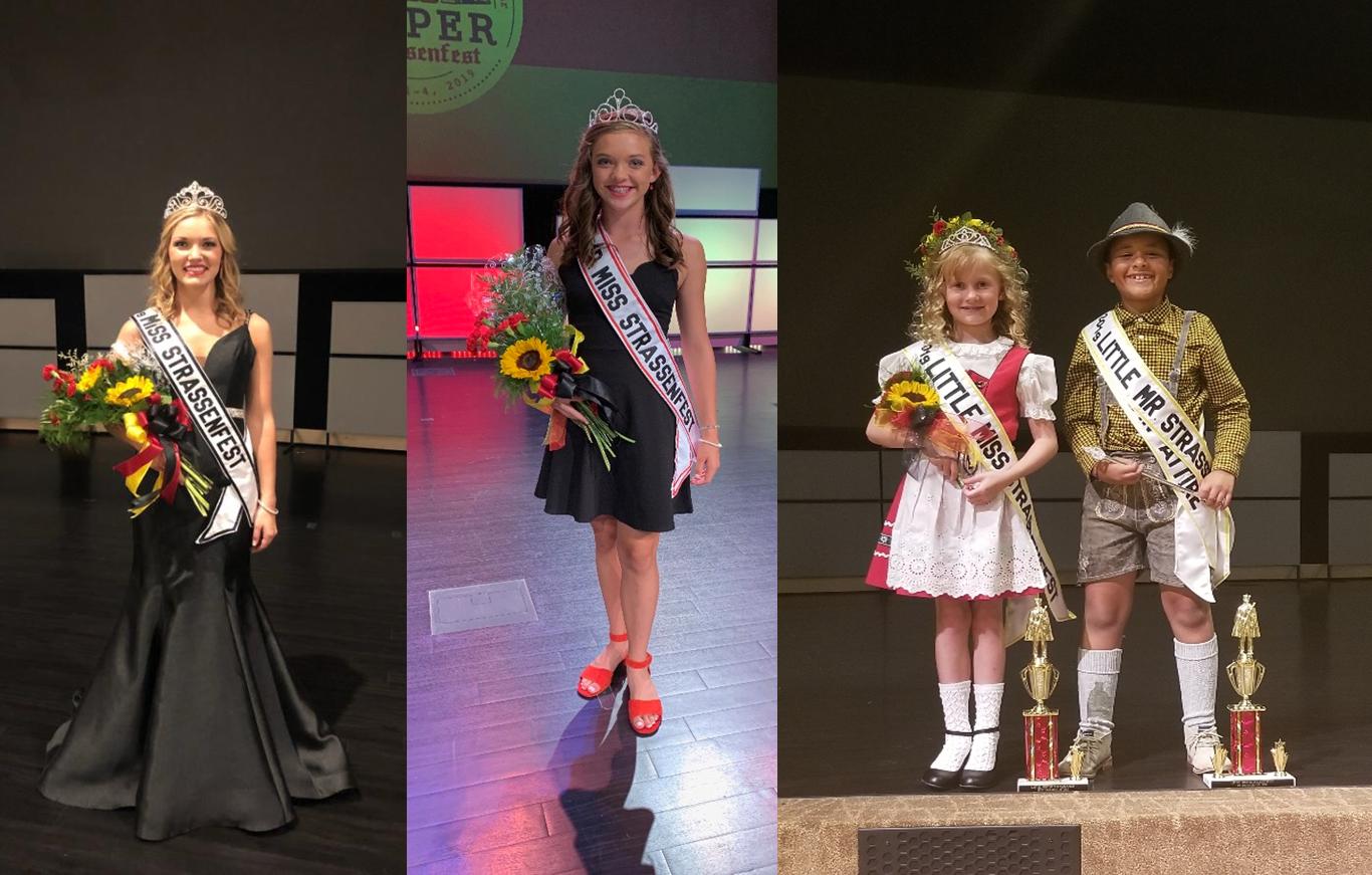 2019 Jasper Strassenfest Pageant Winners Announced
