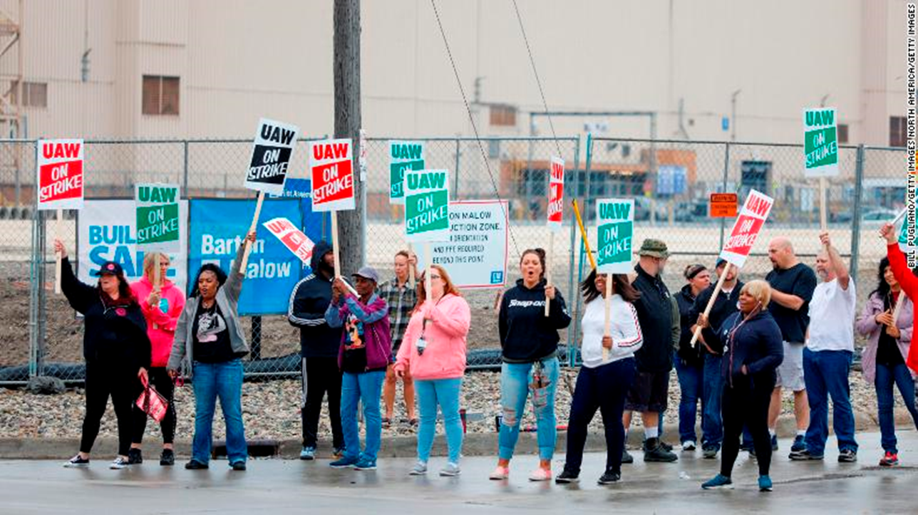 Workers at G.M.'s Bedford Plant, Other Facilities Continue Worker's Strike