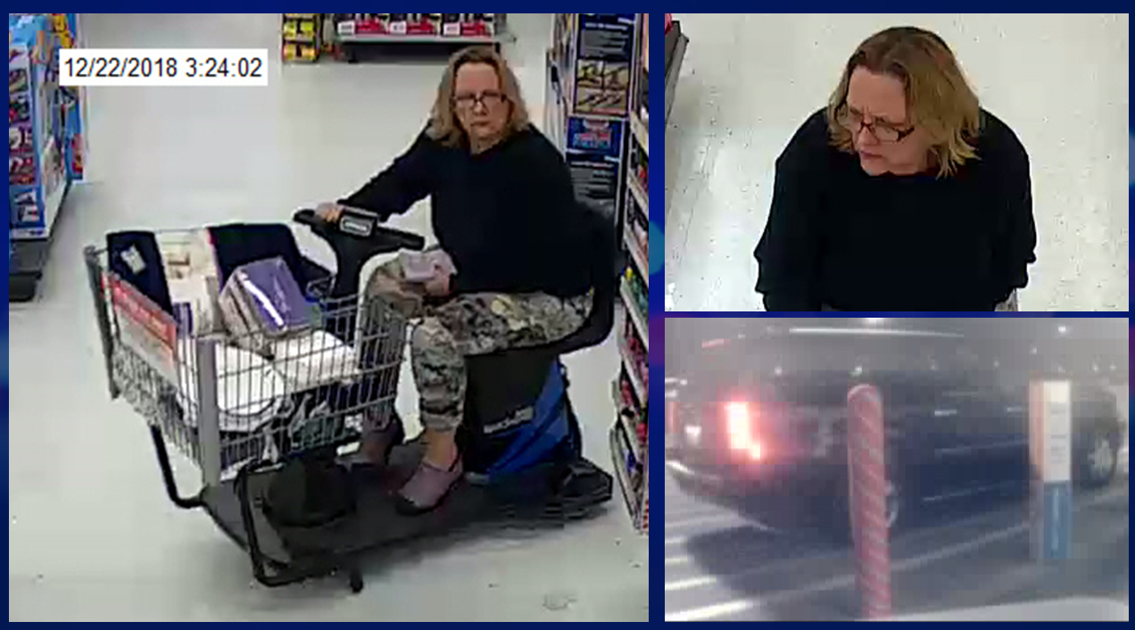 DO YOU KNOW HER?  Jasper Police Searching for Female Purse Thief