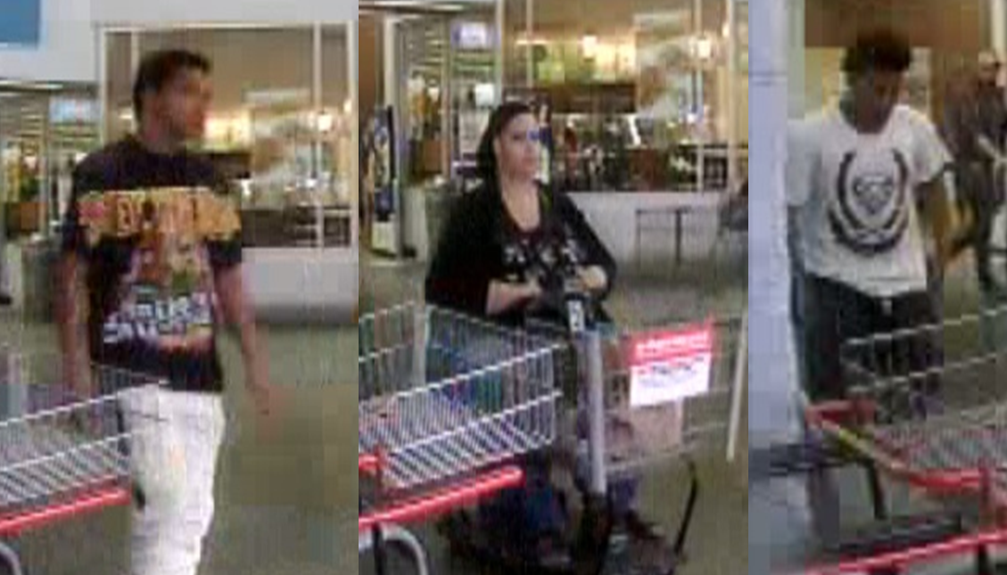 DO YOU KNOW THEM?  JPD Asking For Information in Walmart Theft