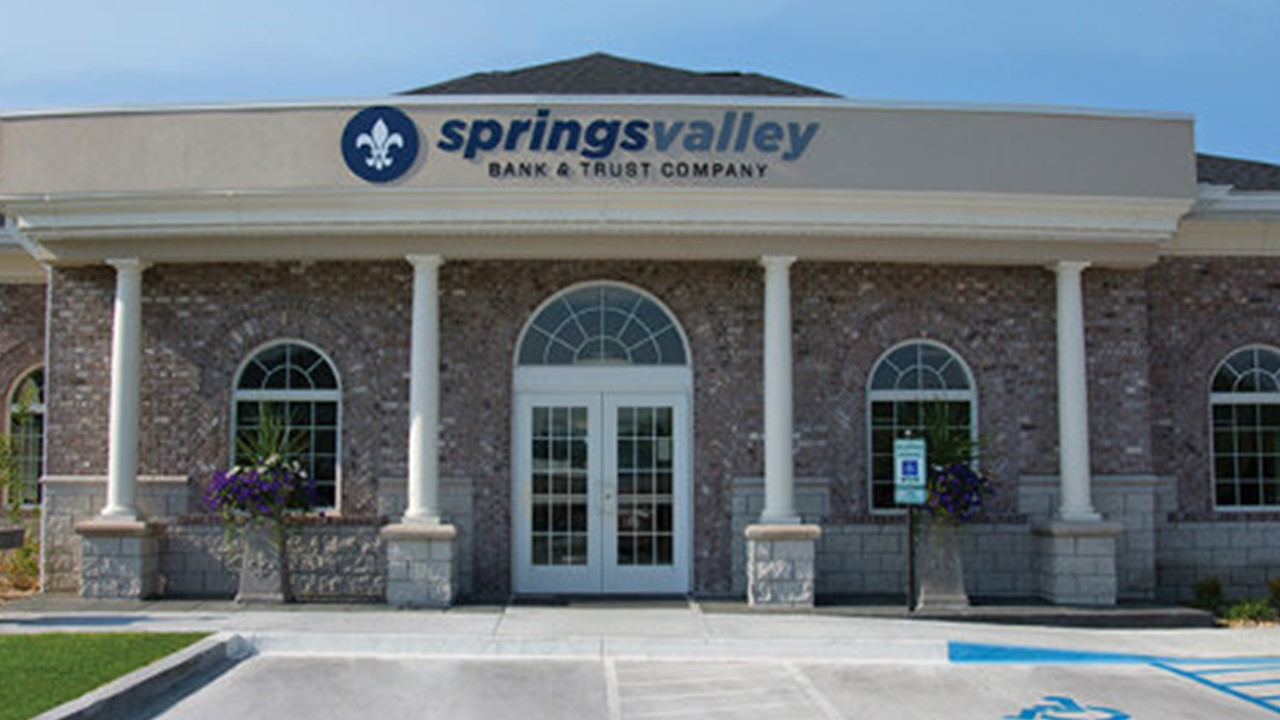 Magazine Ranks Springs Valley Bank Among the Top 200 Public Banks in the U.S.