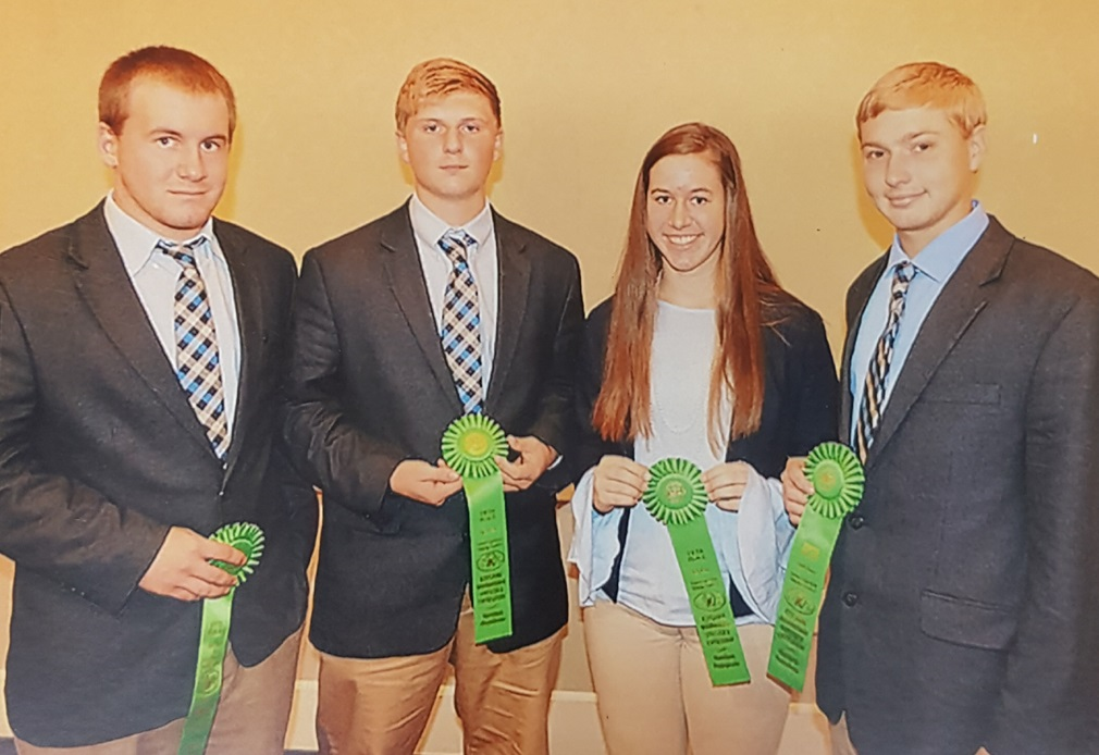Dubois County Livestock Judging Team Places in National Competition