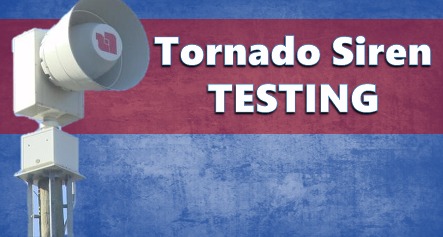 JUST TESTING:  Dubois County to Test Tornado Sirens Saturday Afternoon