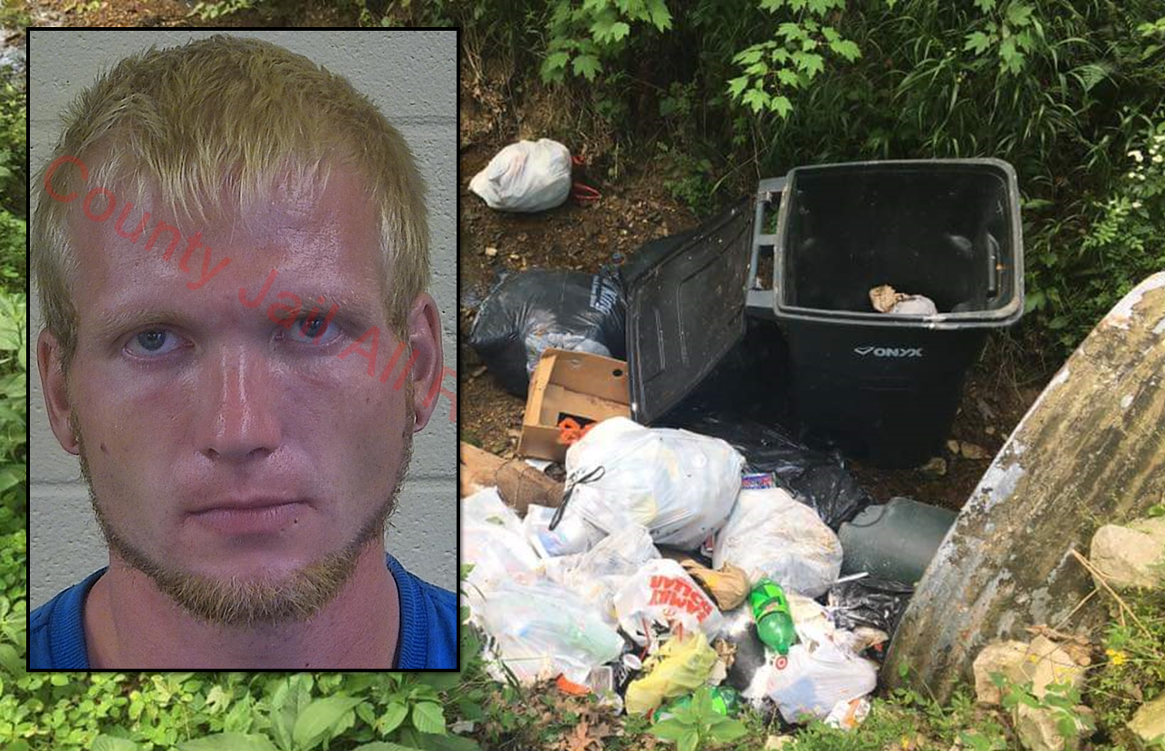 Huntingburg Man Arrested For Allegedly Dumping Around 40 Bags of Trash on Private Property