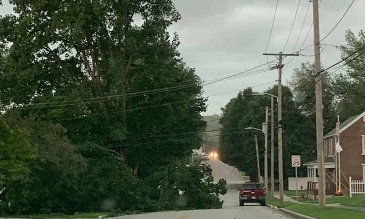 WILD WEATHER:  Severe Storms Tuesday Bring Down Trees, Power Lines, Plunge Hundreds into Darkness