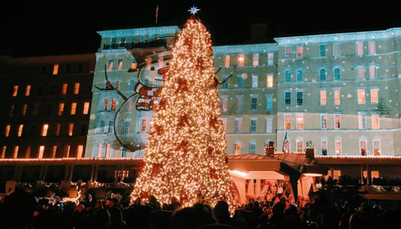 WATCH:  The French Lick Resort Hosts Christmas Tree Lighting Event Friday
