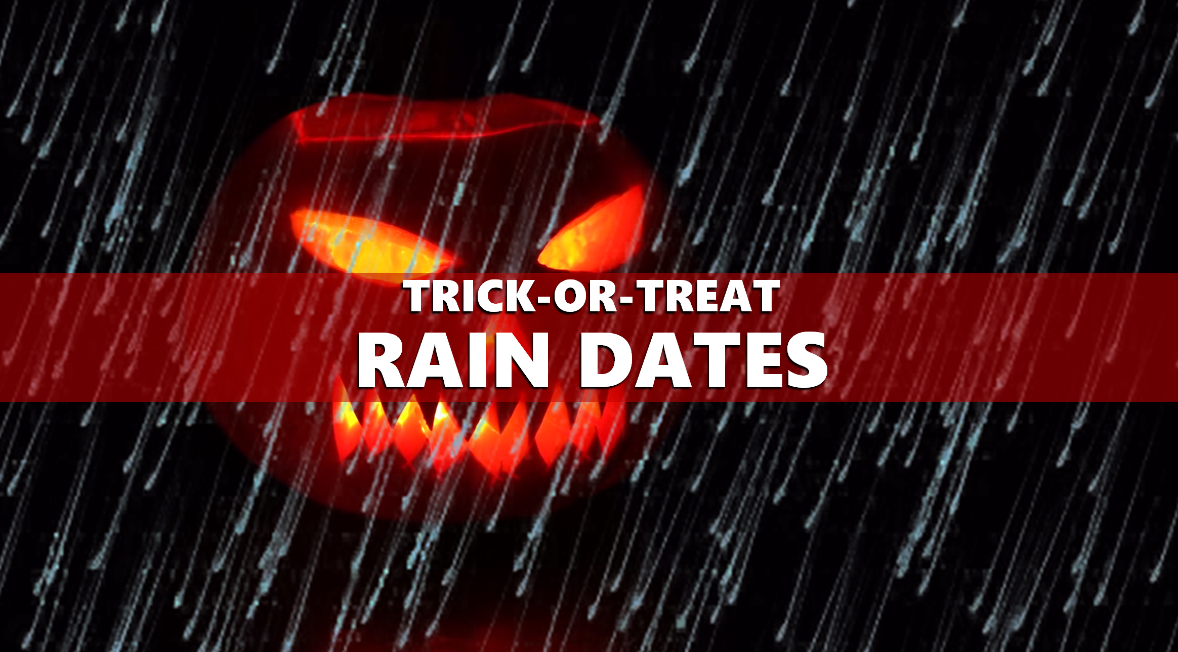 Trick-or-Treating Times Changing in Jasper, Other Locations Due to Rain Forecast