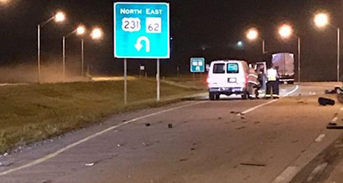 One Dead in Early Morning Crash on U.S. 231
