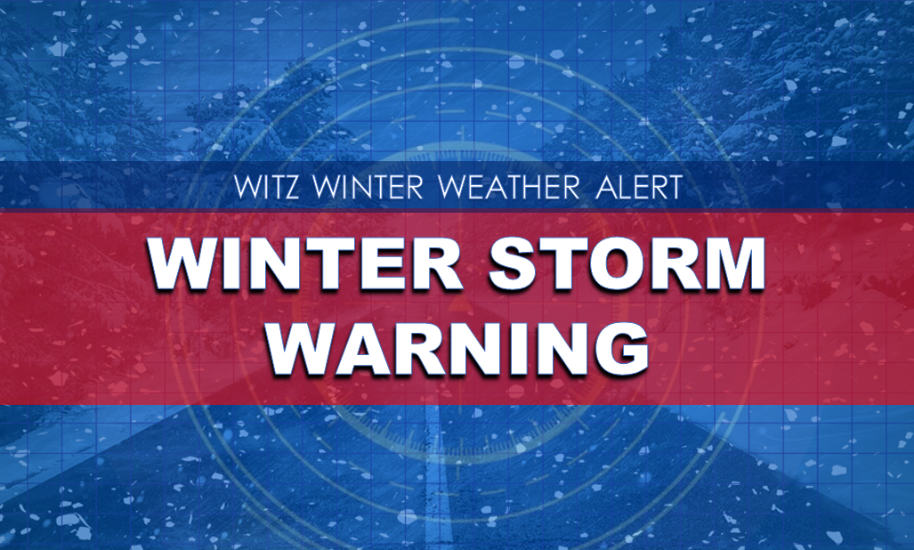 WINTER STORM WARNING Issued for Dubois County