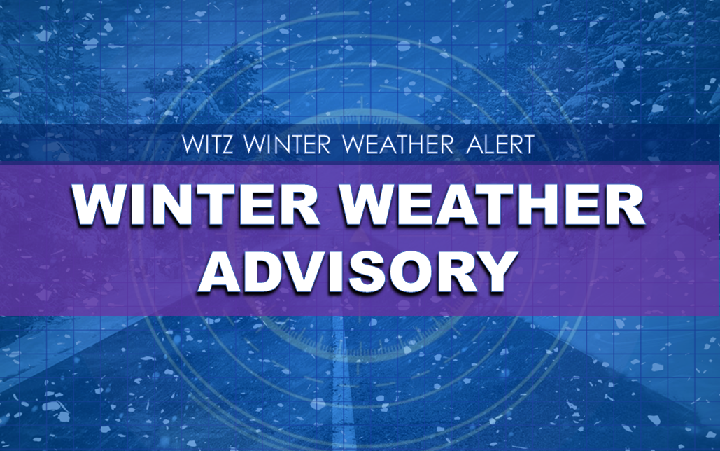 WINTER WEATHER ADVISORY In Effect for Dubois, Spencer Under Winter Storm Watch