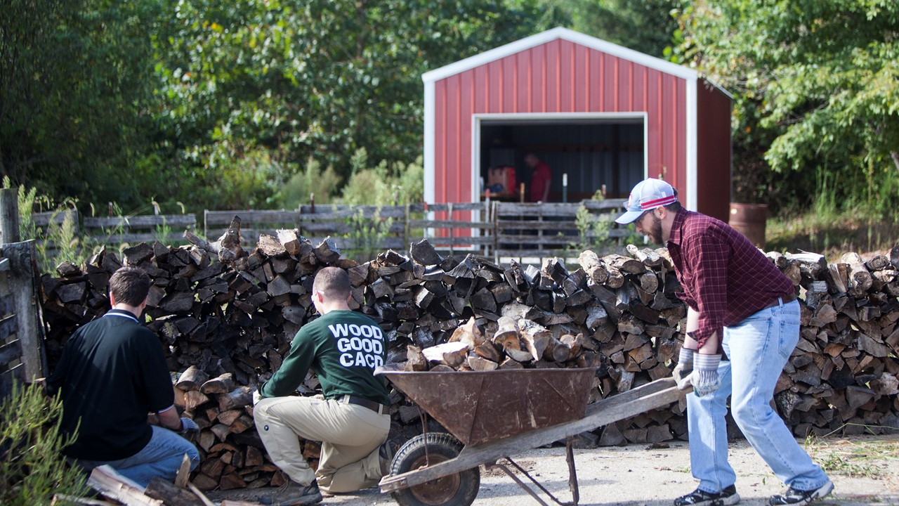 Local Seminarians Looking For Families Who Need Firewood to Heat Homes This Winter