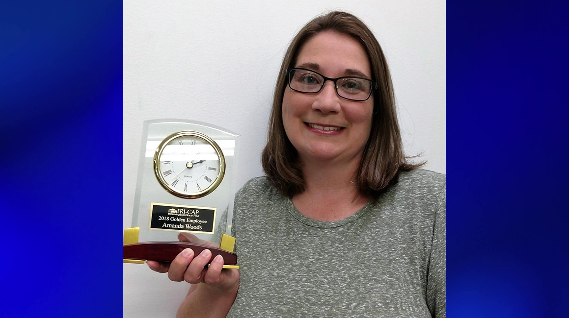 Amanda Woods Honored With