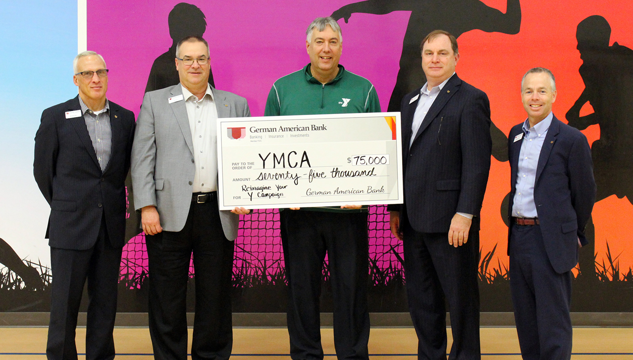 German American Donates $75,000 to Tri-County YMCA For Expansion Project