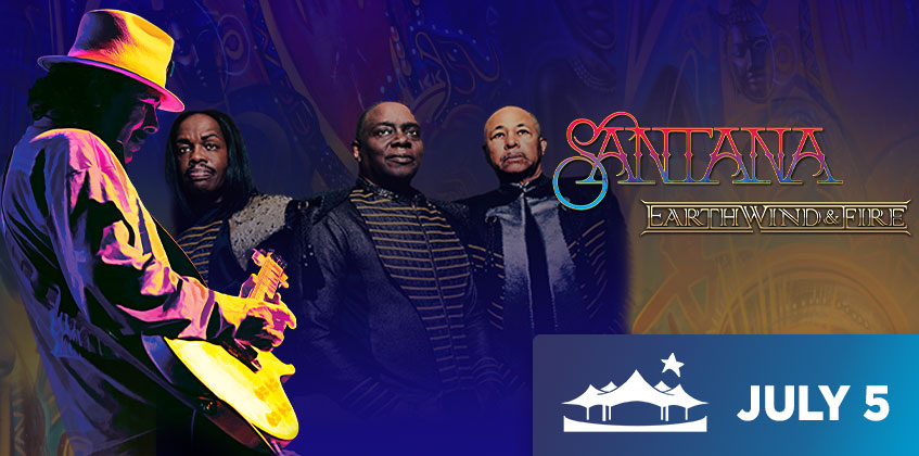 Santana & Earth, Wind & Fire - July 5