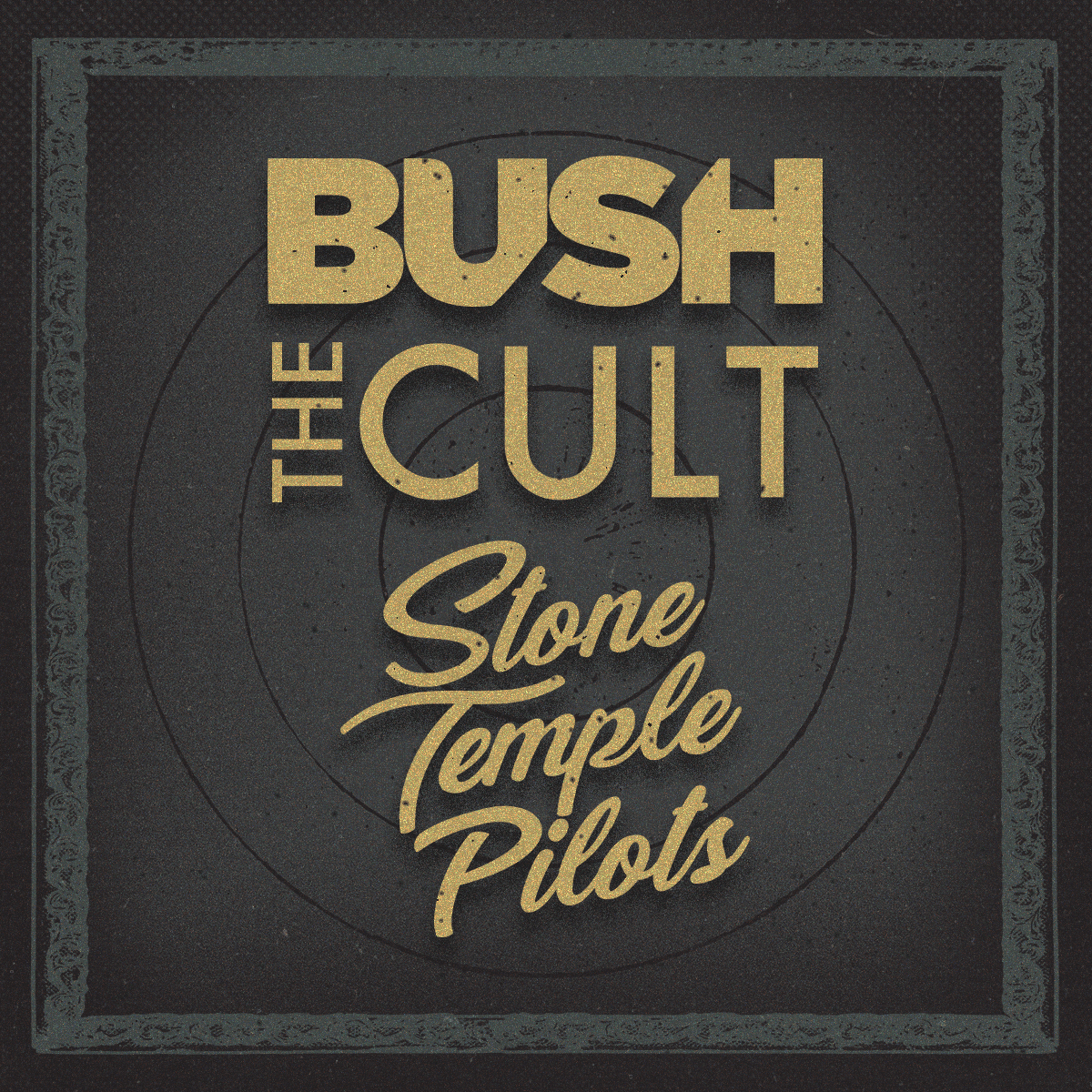 Regata Stone Temple Pilots Bush Revolución Tour 2019 – Name