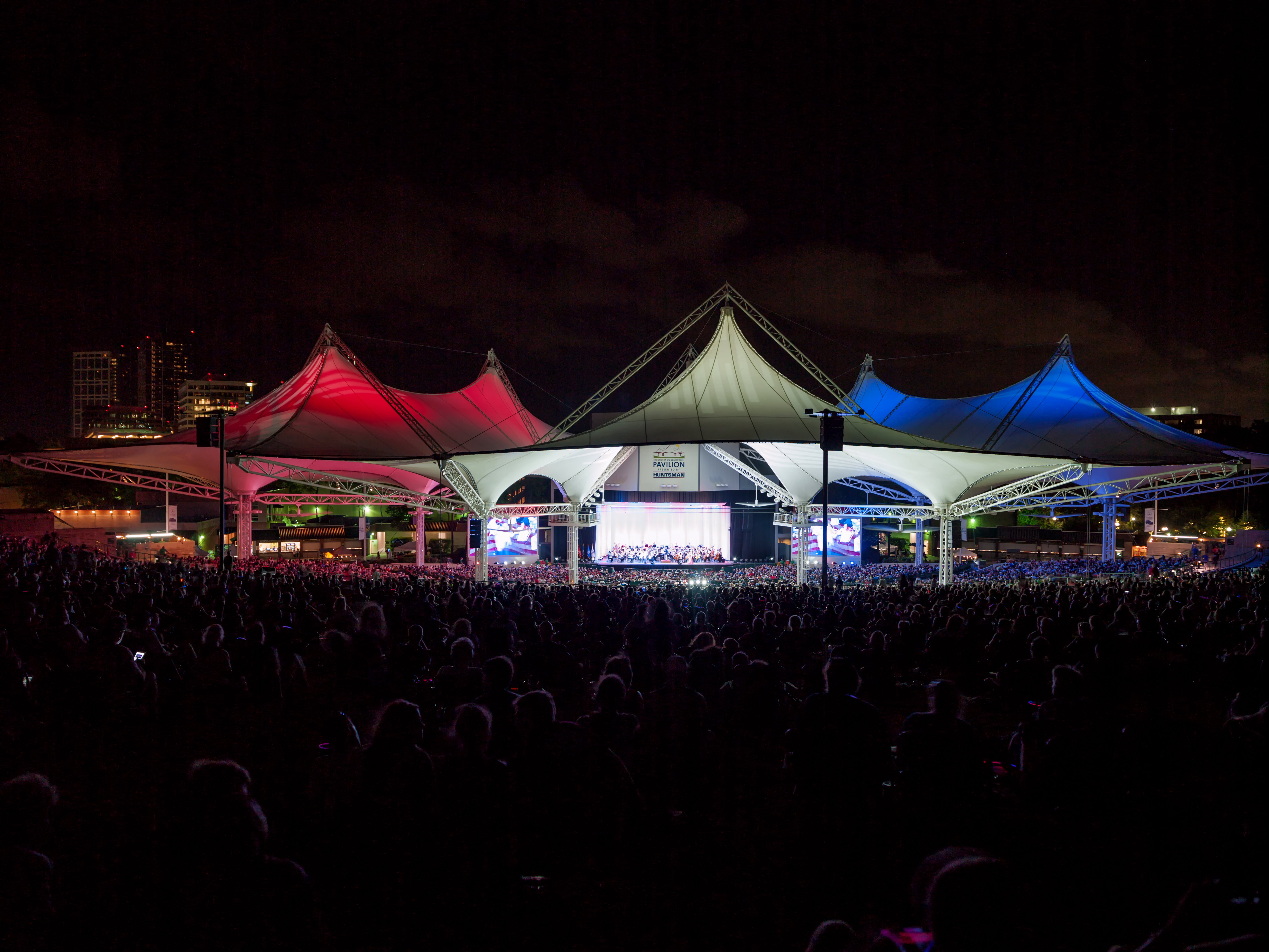 celebrate america at the cynthia woods mitchell pavilion's annual