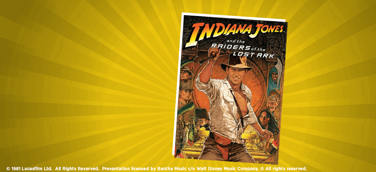 Houston Symphony: Indiana Jones and the Raiders of the Lost