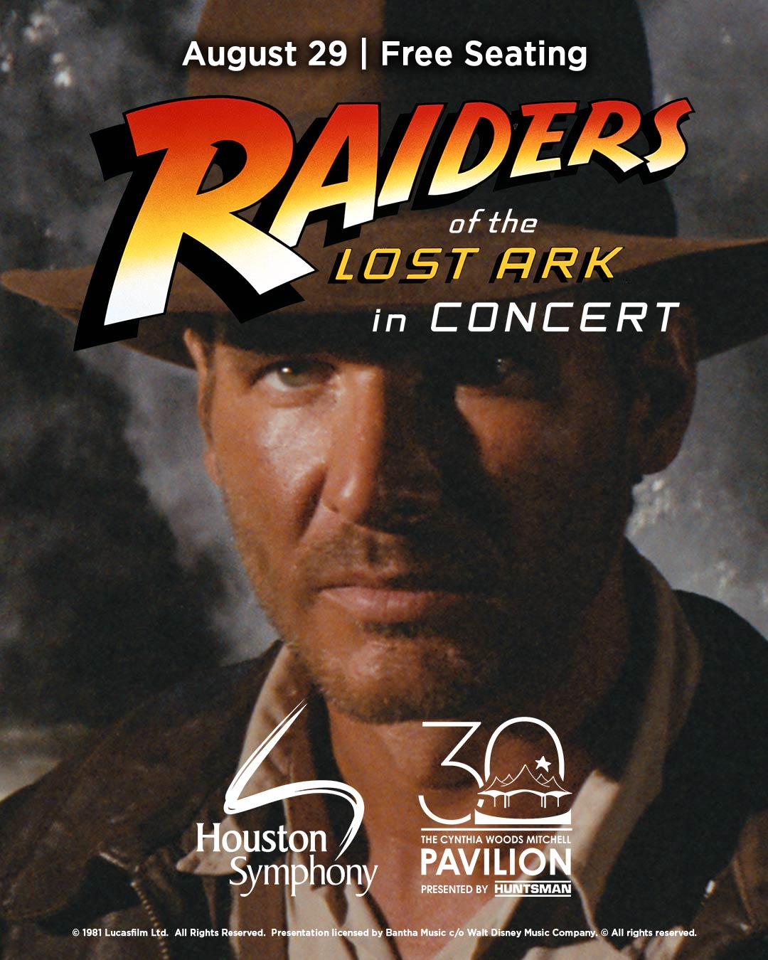 Raiders of the Lost Ark in Concert - August 29