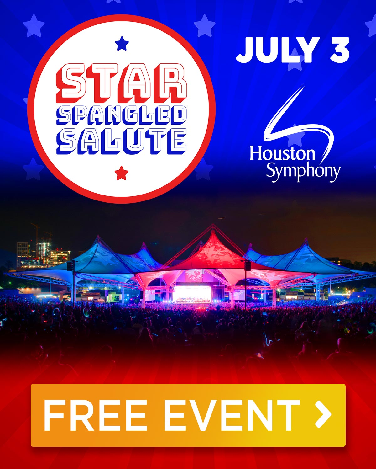 Houston Symphony: Star-Spangled Salute - July 3